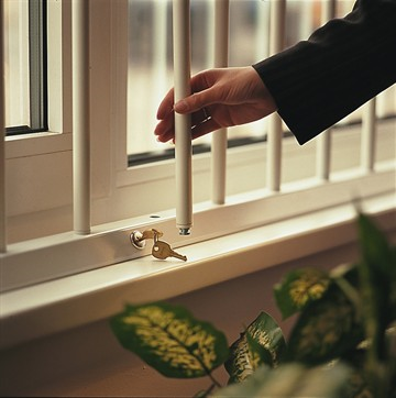 Removable Security Bars. LockABar Removable Window Security Bars